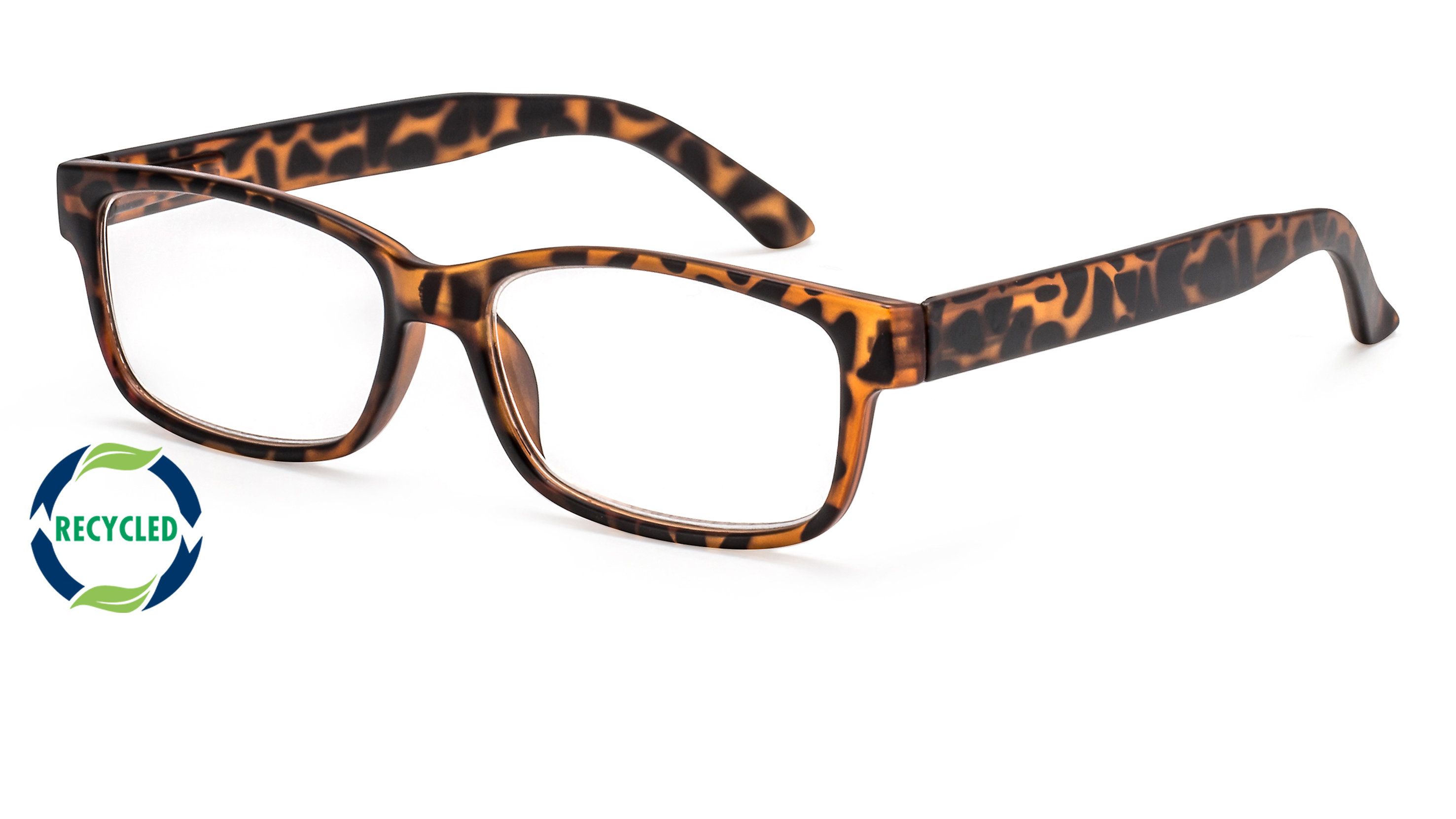 Filtral recycling reading glasses oslo brown