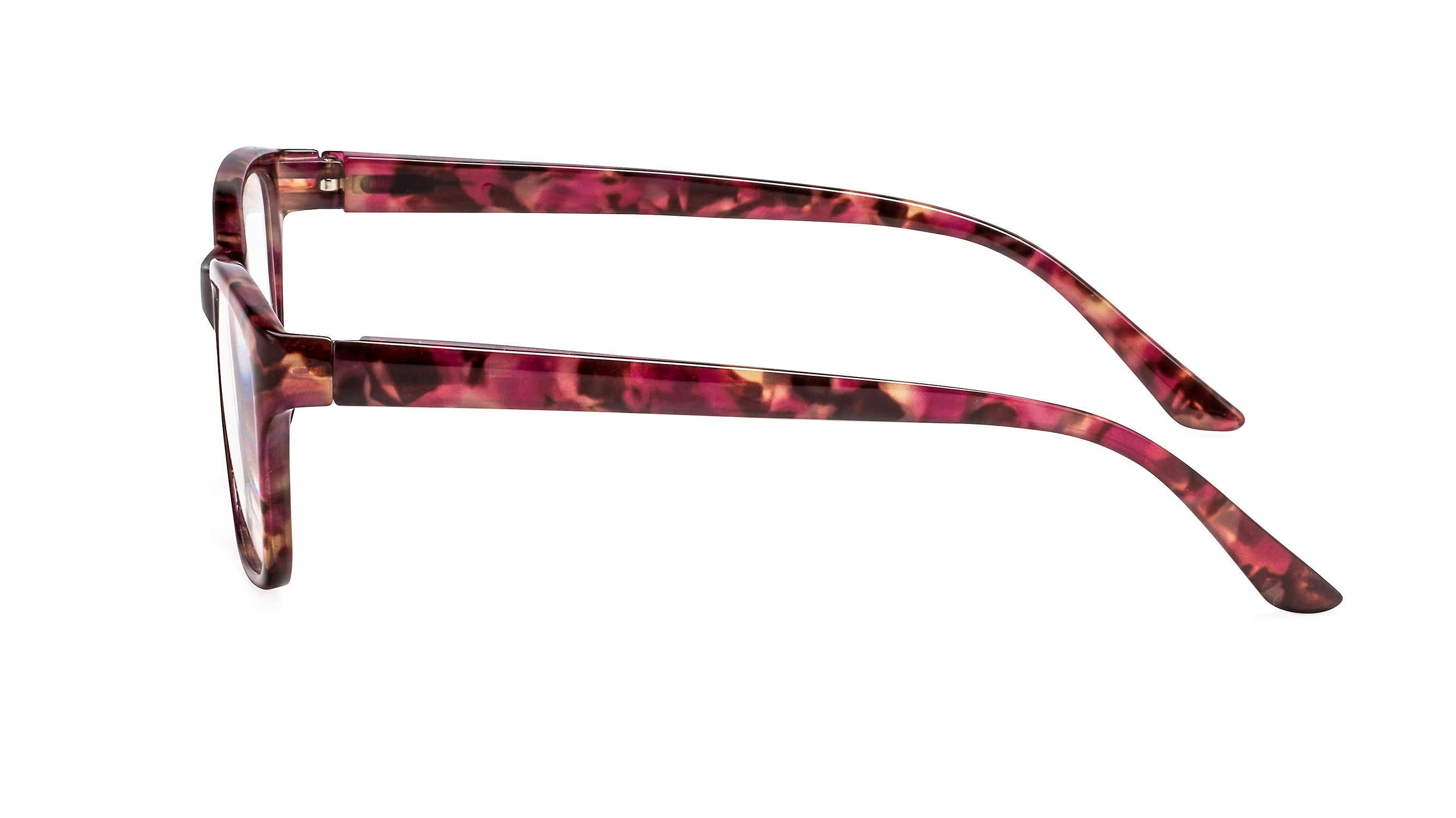 Side view reading glasses Tokyo red