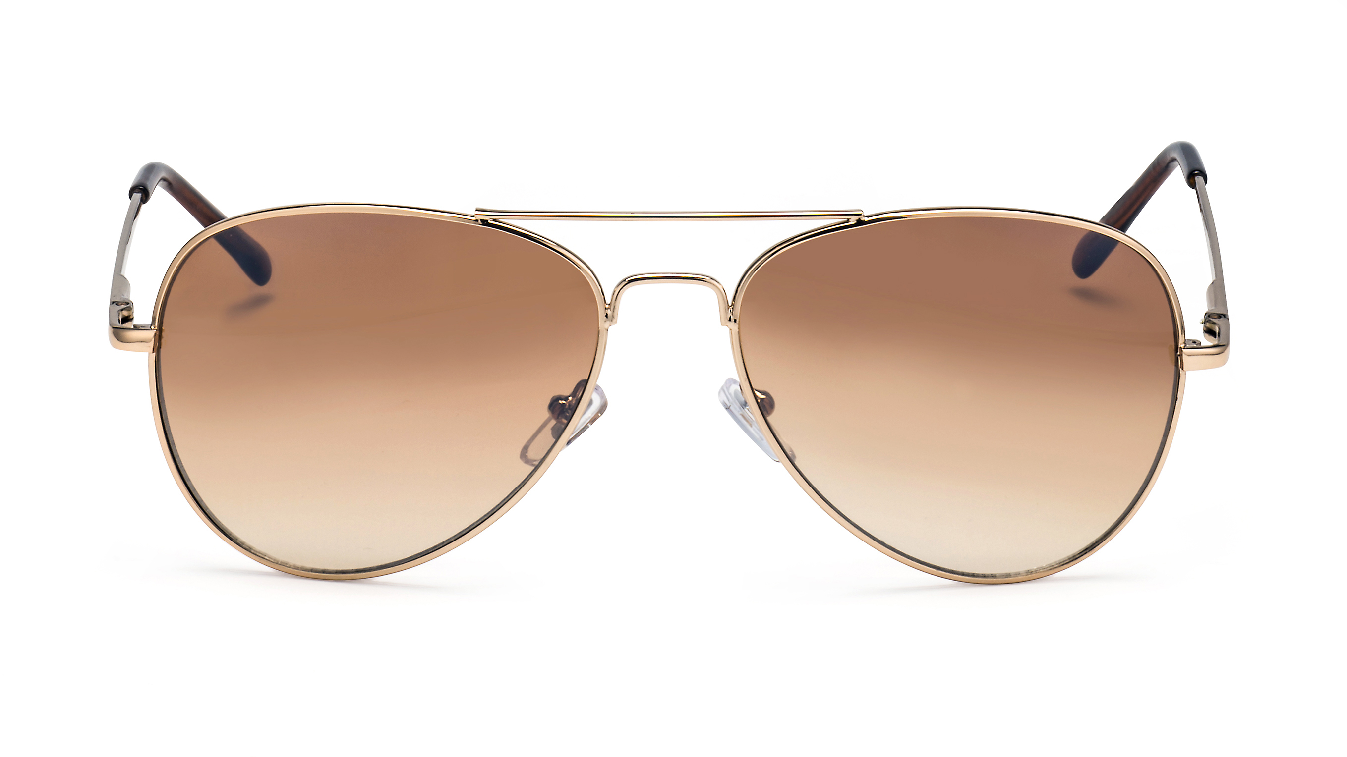 Front view aviator sunglasses F3011509