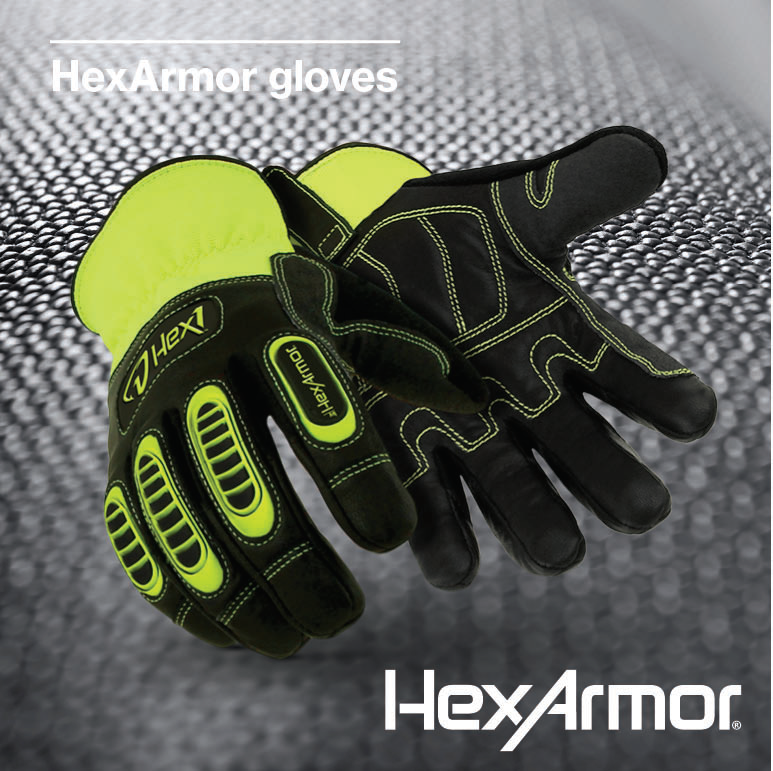 Hexarmor gloves PPE