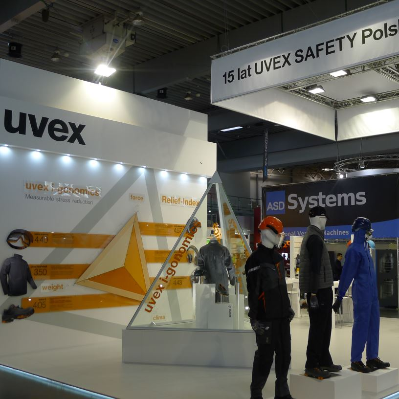 Poznan 2016 exhibition picture uvex safety