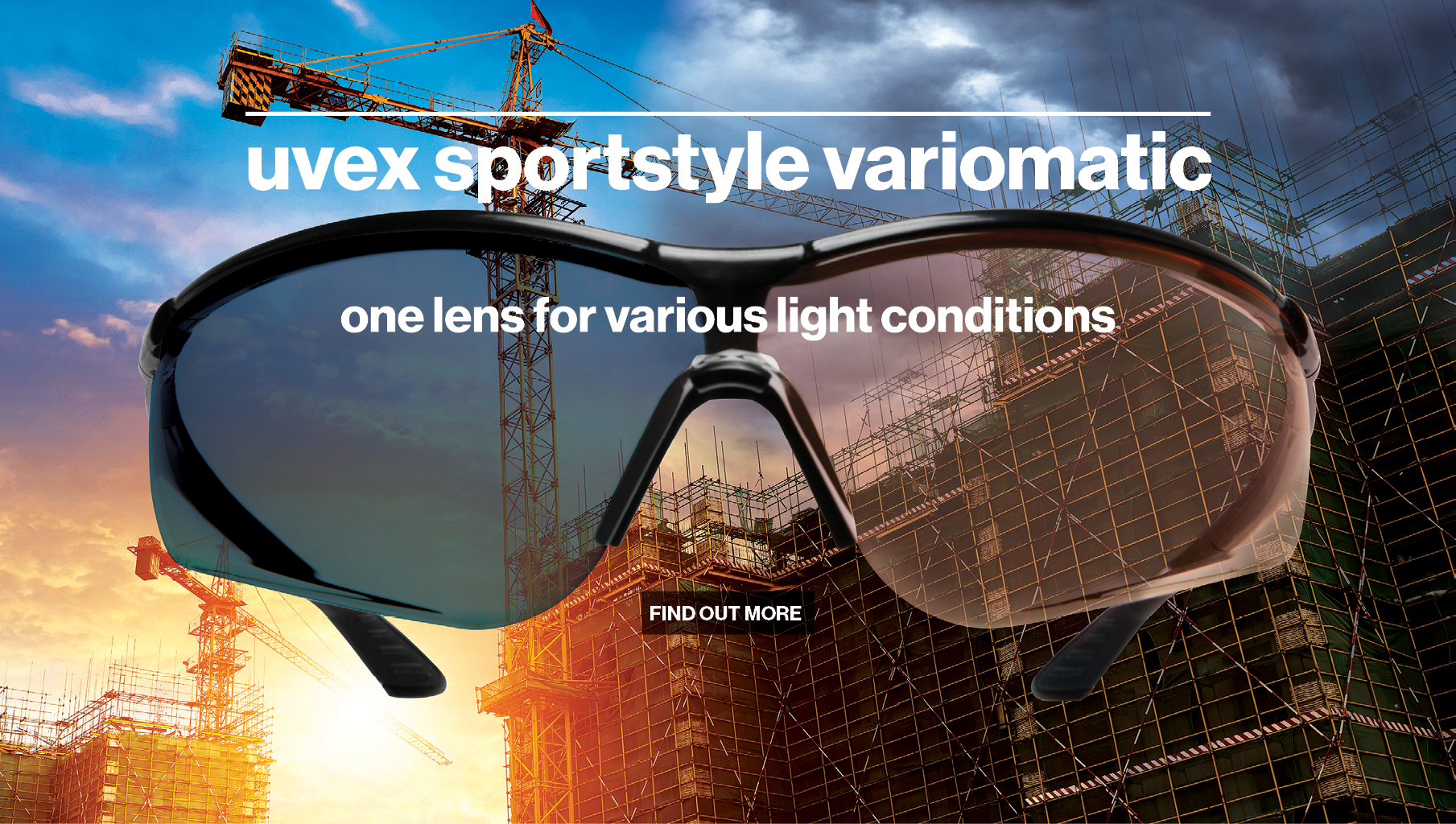 uvex variomatic self-tinting glasses