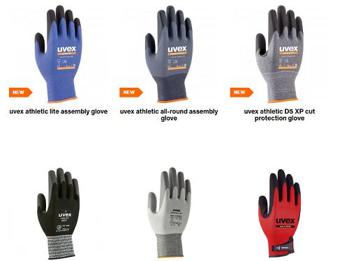 uvex glove overview