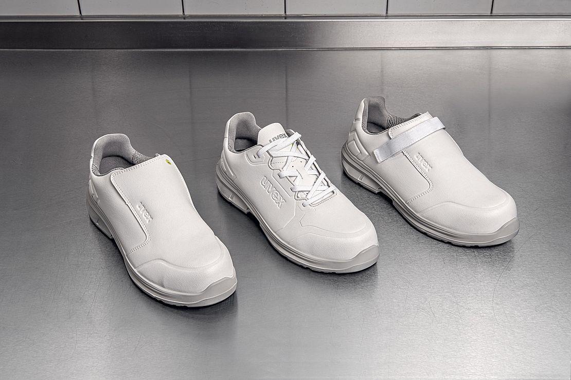 białe buty ochronne