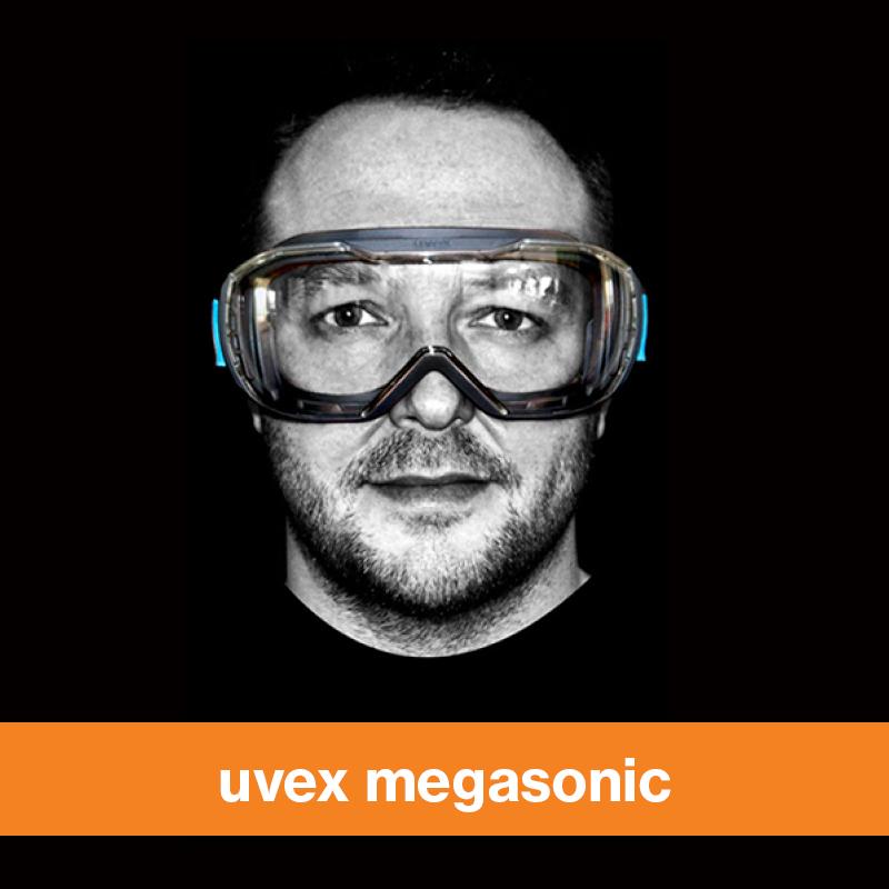 uvex megasonic safety goggle