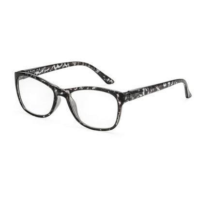 Women's reading glasses style Tokyo for triangular faces