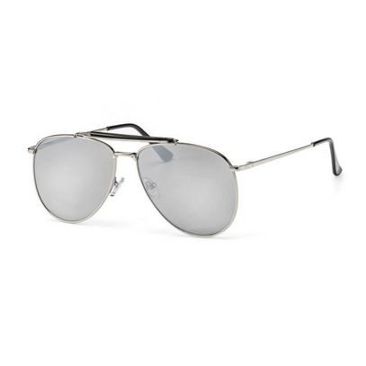 main view, flat lens aviator sunglasses