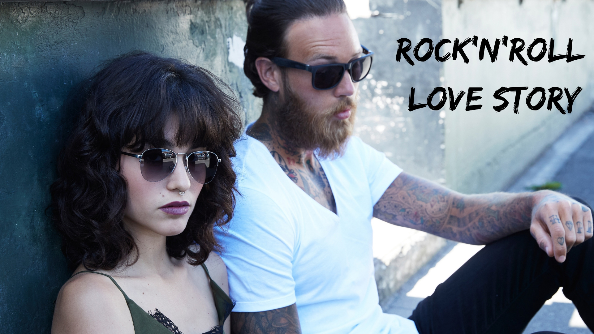 header image sunglasses lookbook rock and roll love story