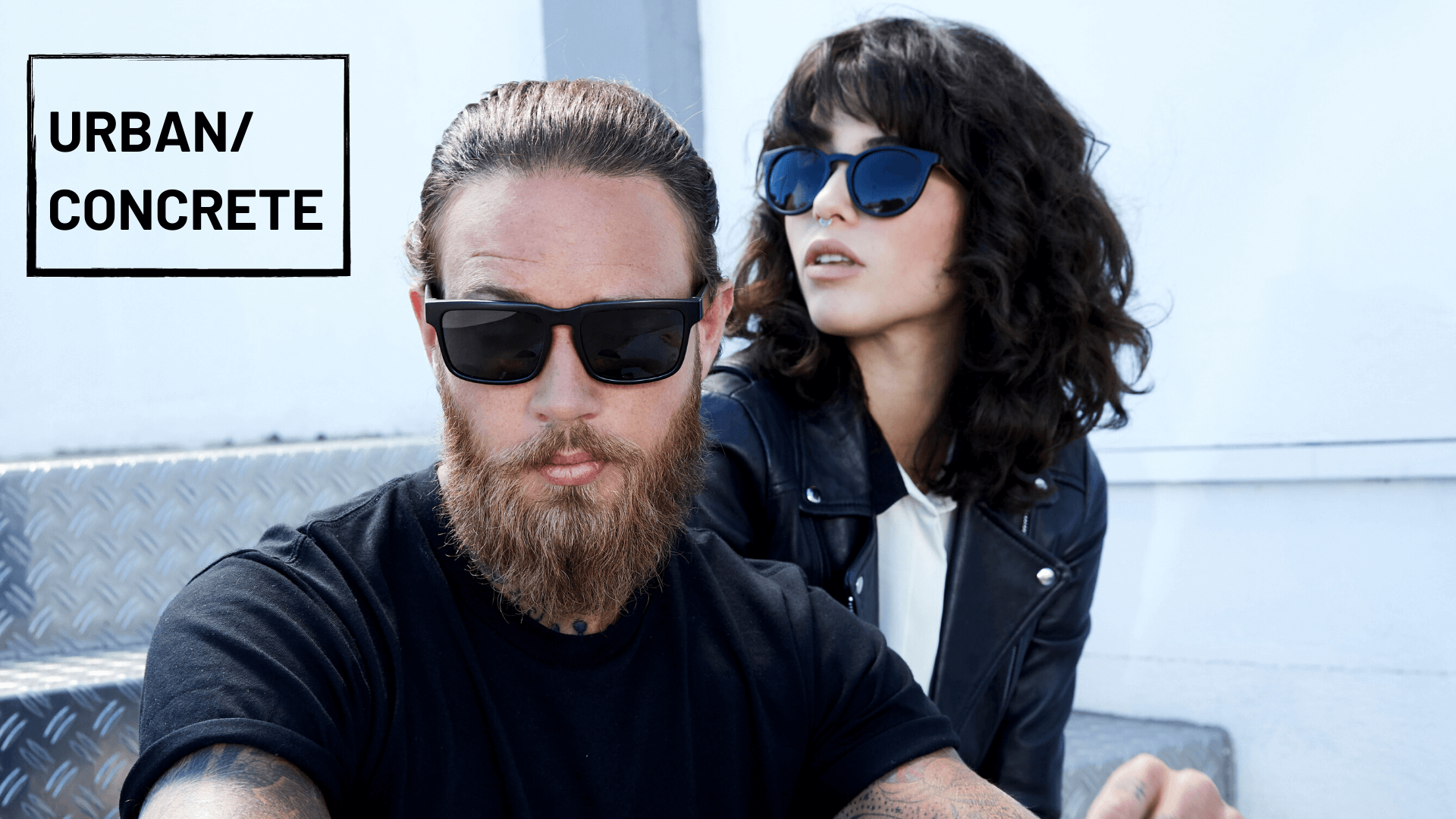 header image sunglasses lookbook urban concrete