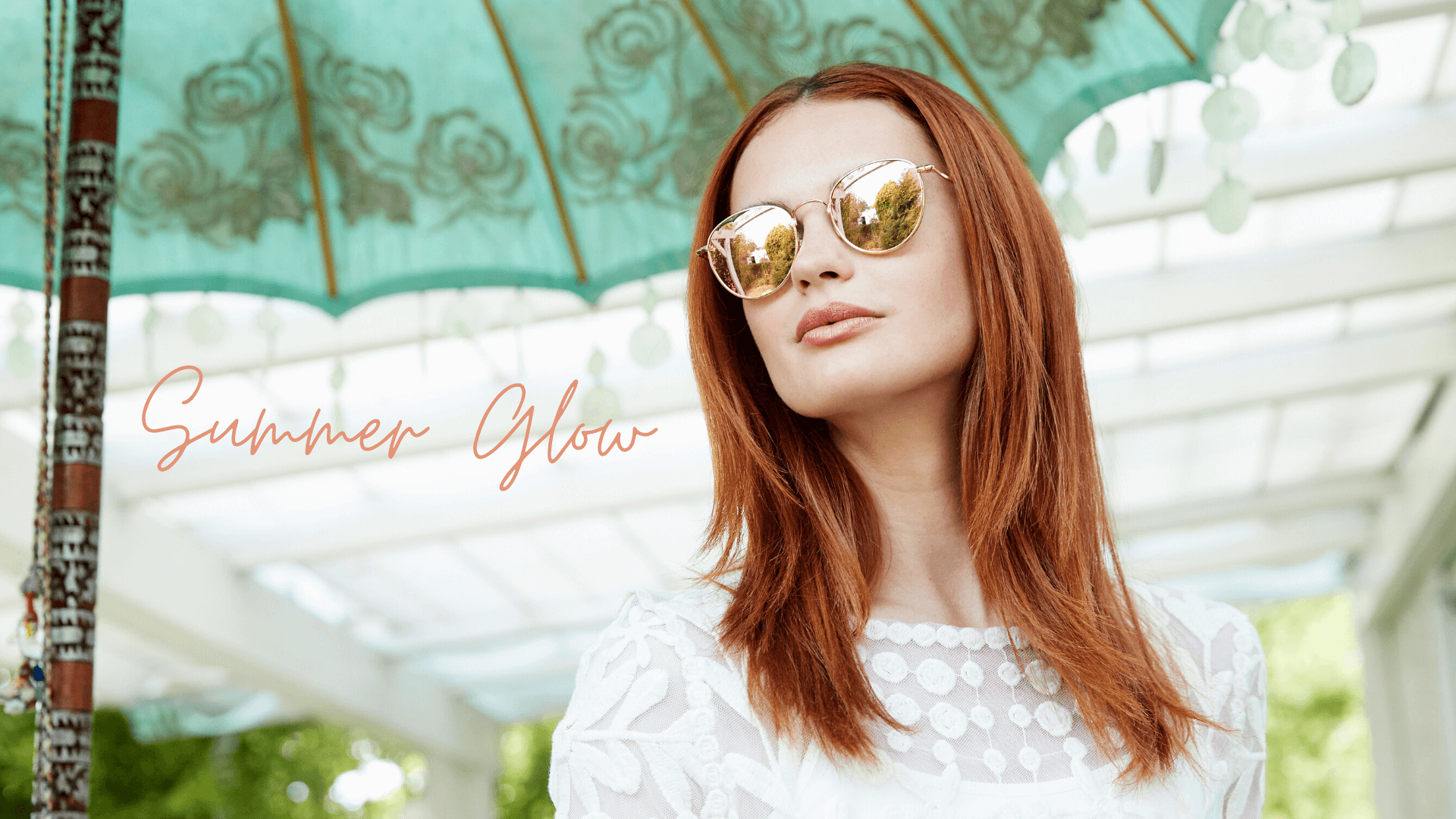 headerbild sonnenbrillen lookbook summer glow