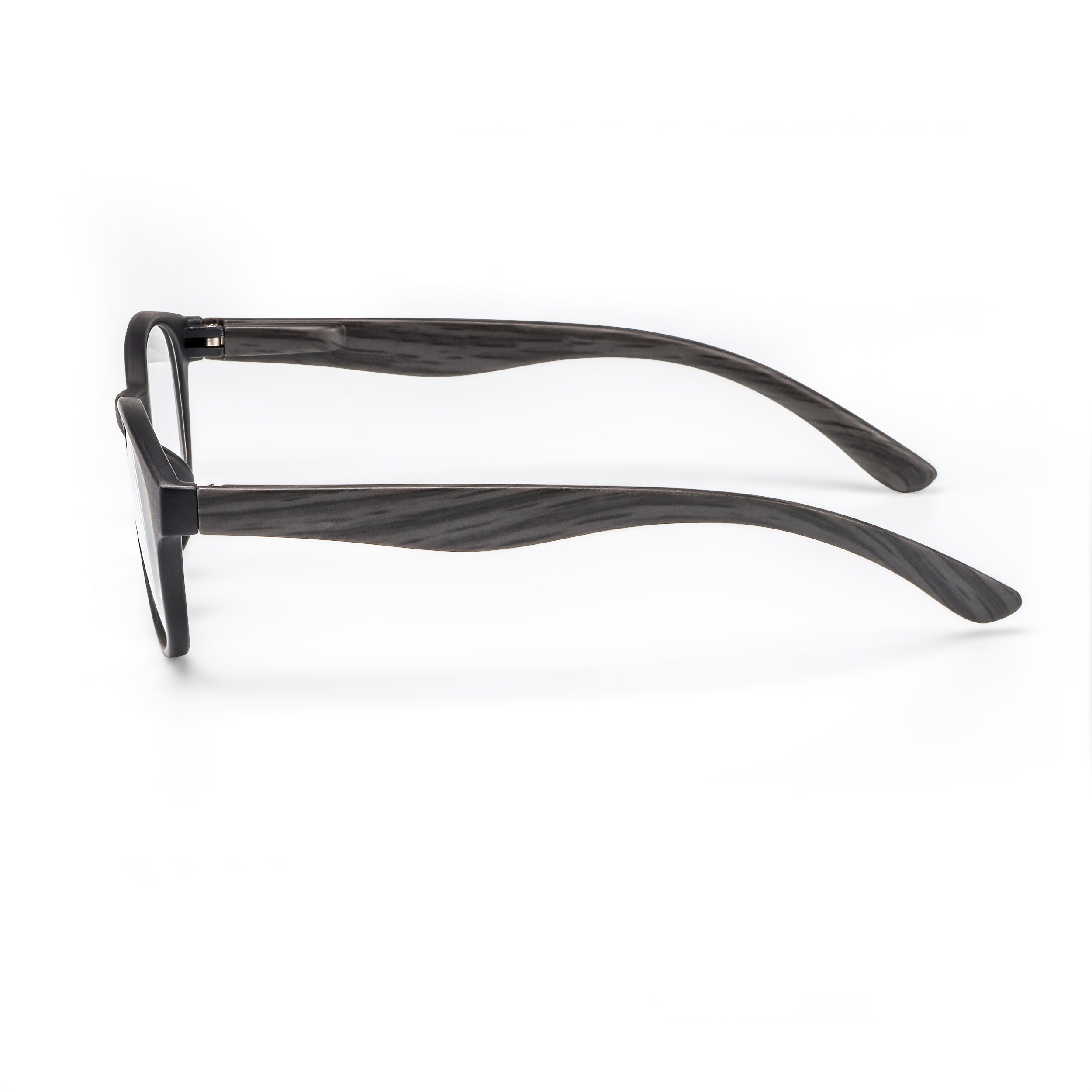 Side view reading glasses Amsterdam black
