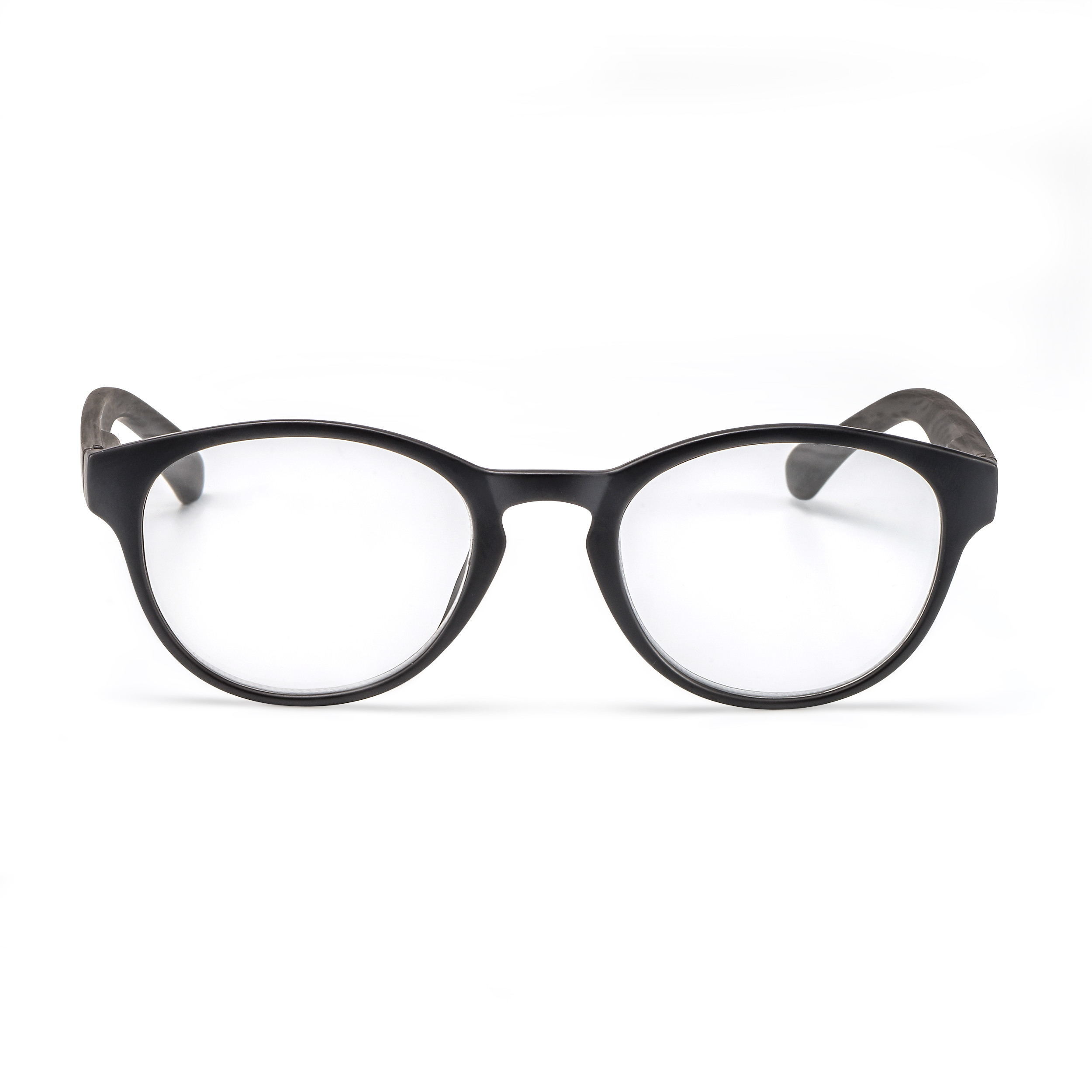 Front view reading glasses Amsterdam black