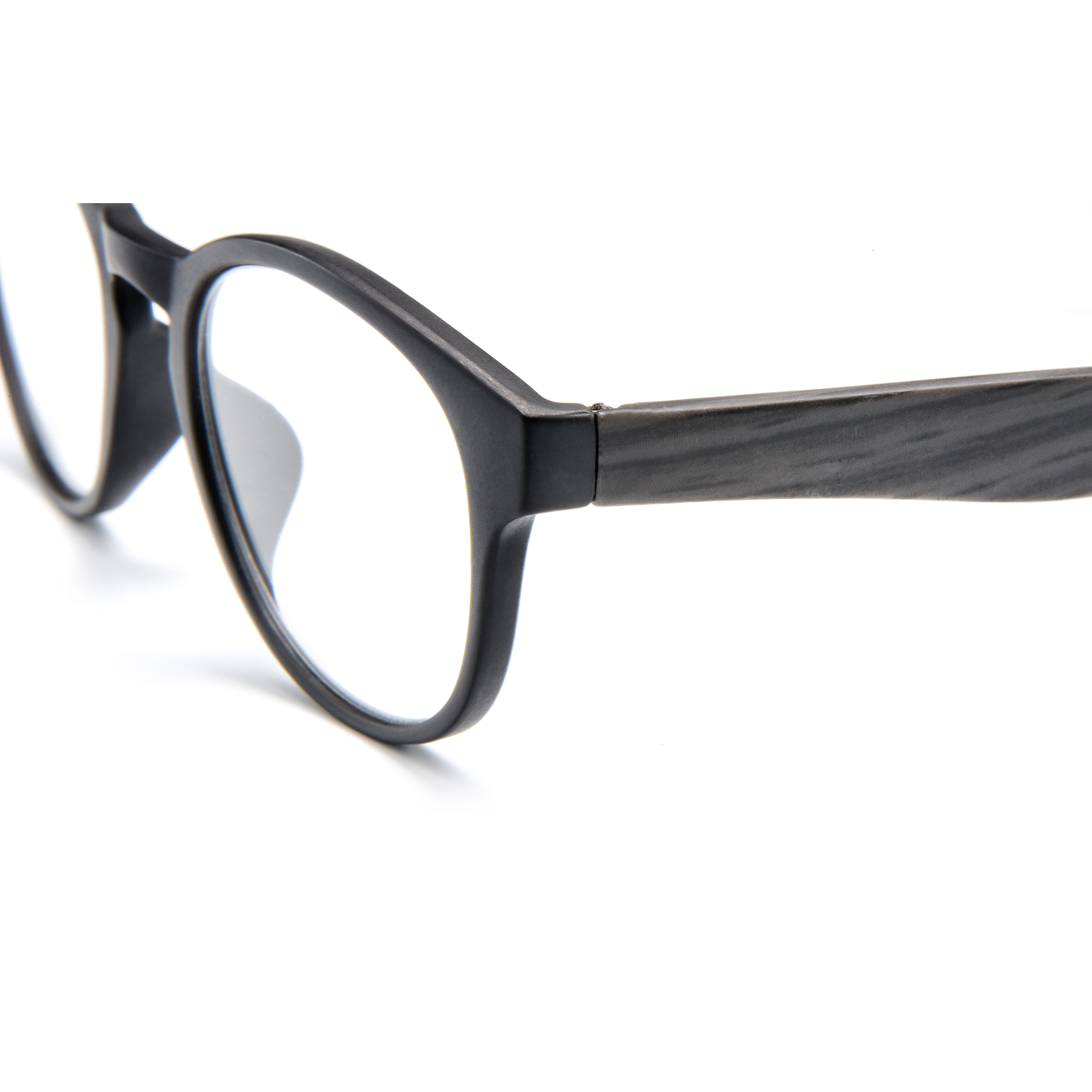 Detailed view frame, reading glasses Amsterdam black