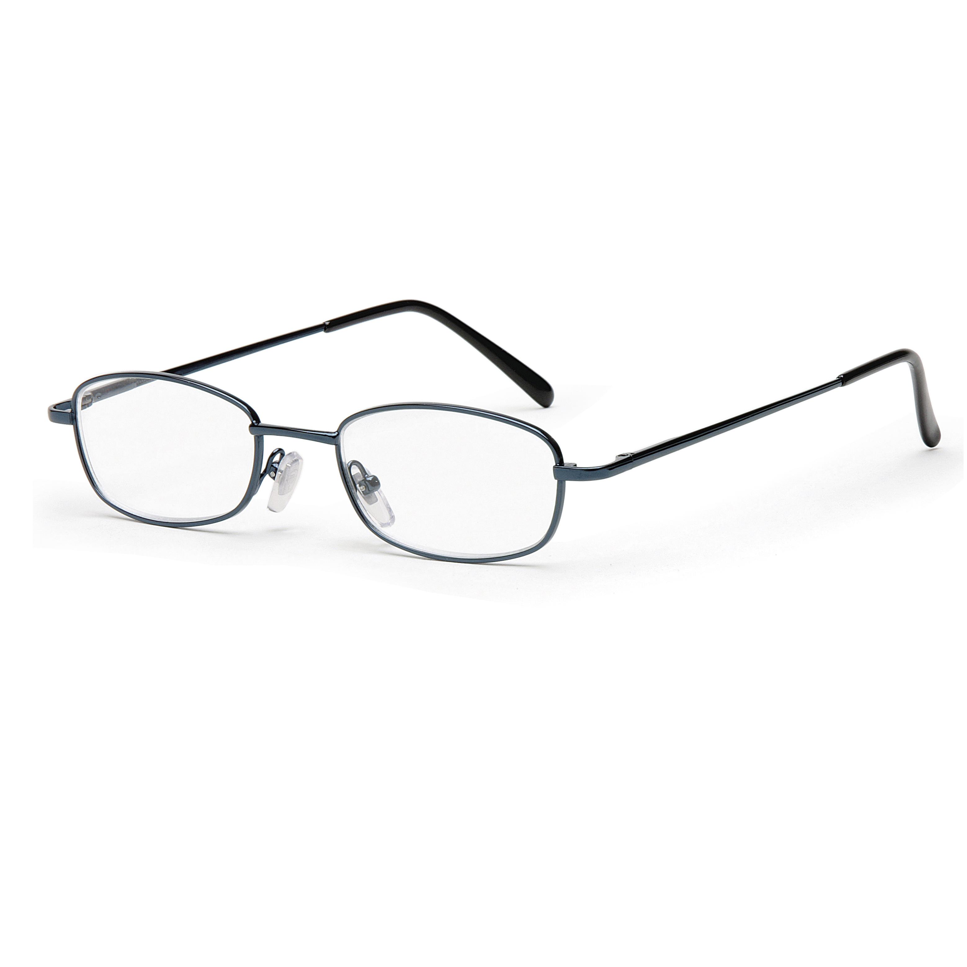Main view reading glasses new york blue