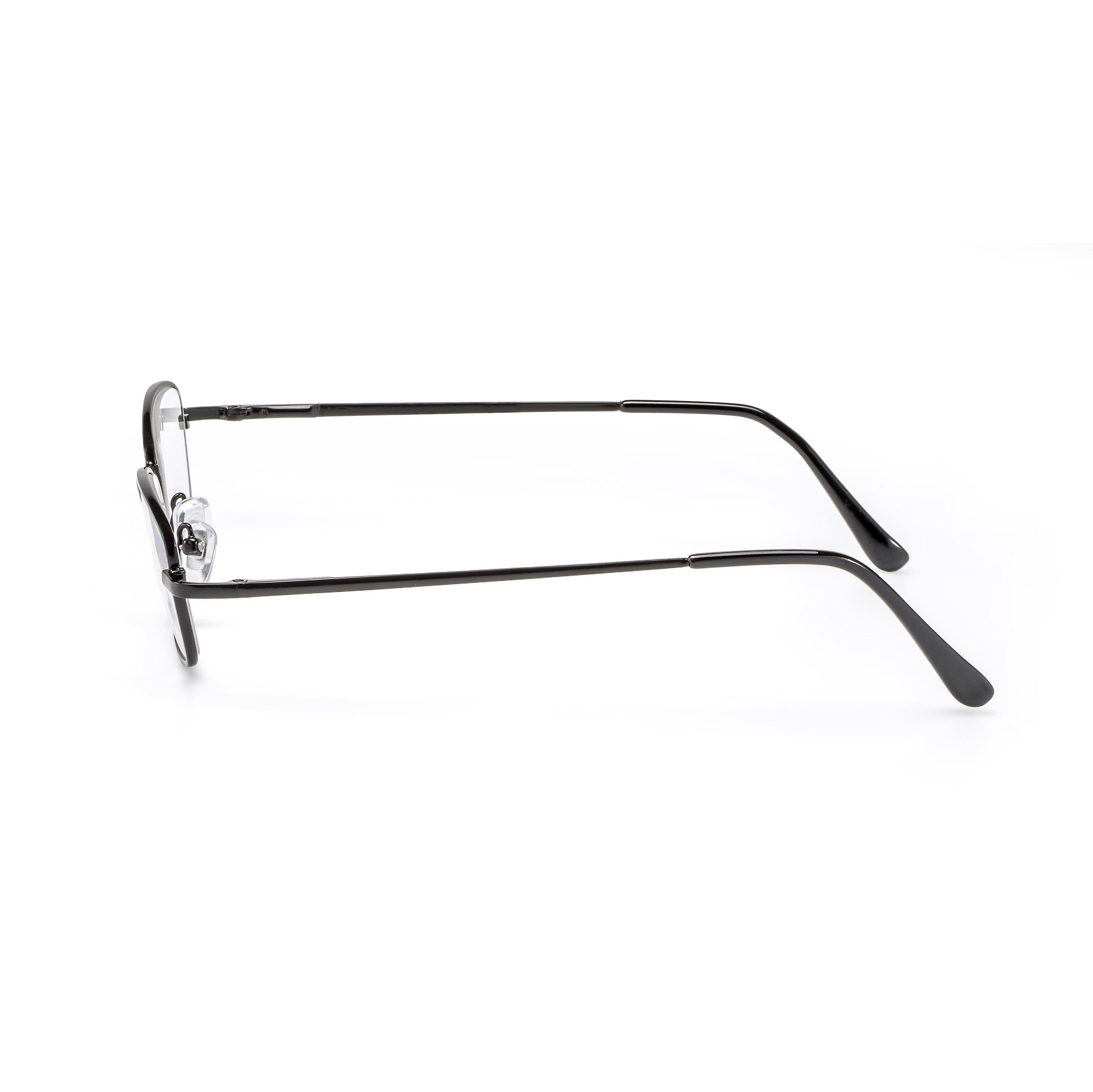 Side view reading glasses black