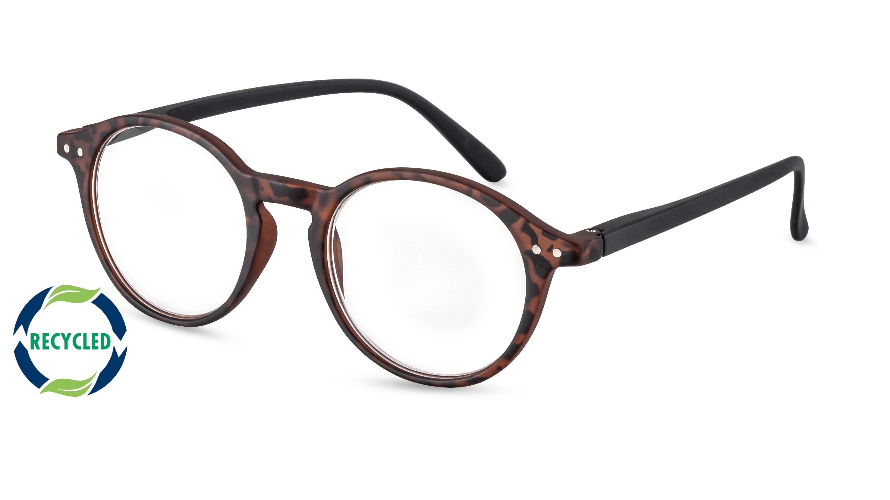 Filtral Recycled Reading Glasses Rio havana-black