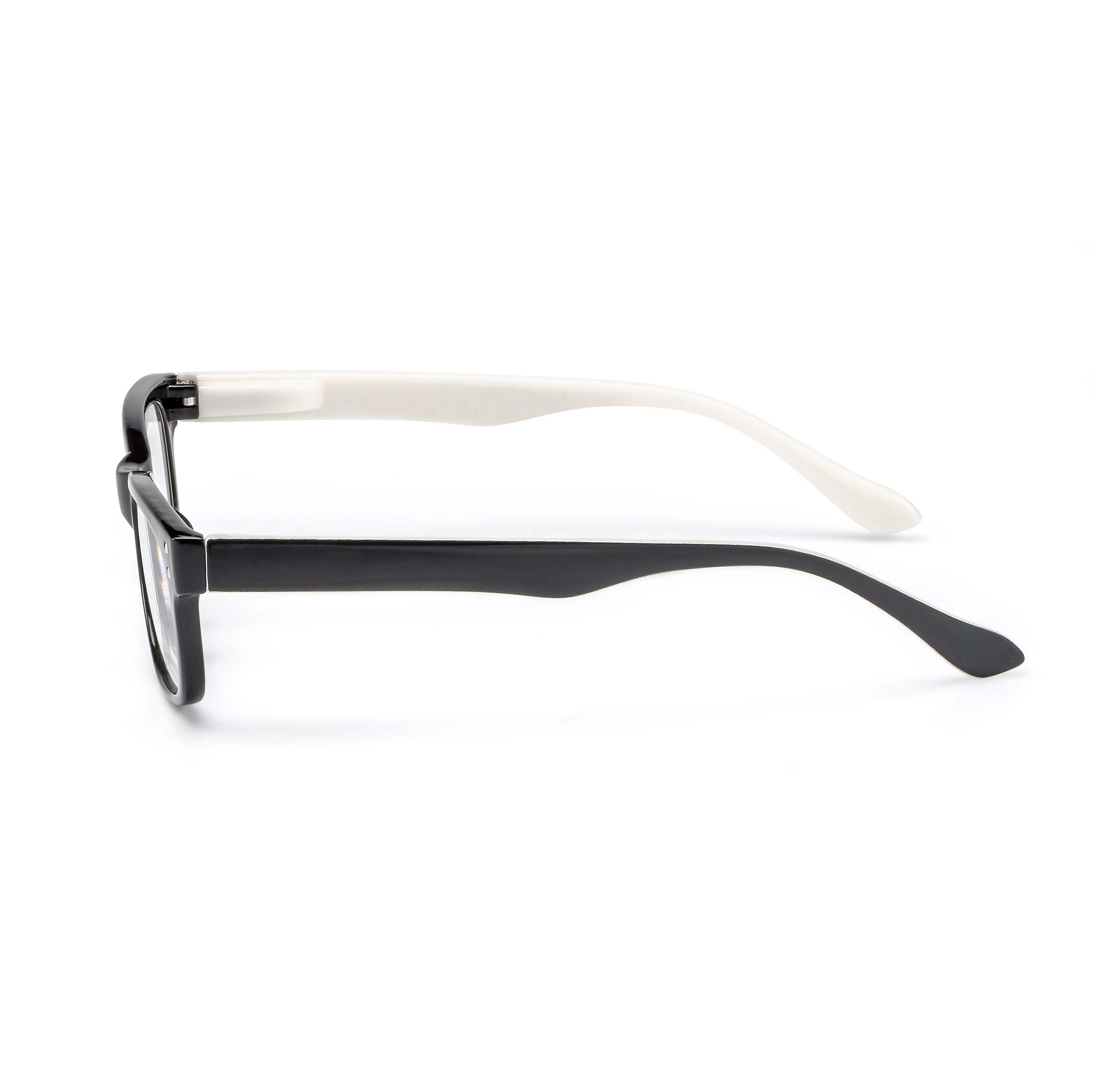 Side view reading glasses San Francisco white