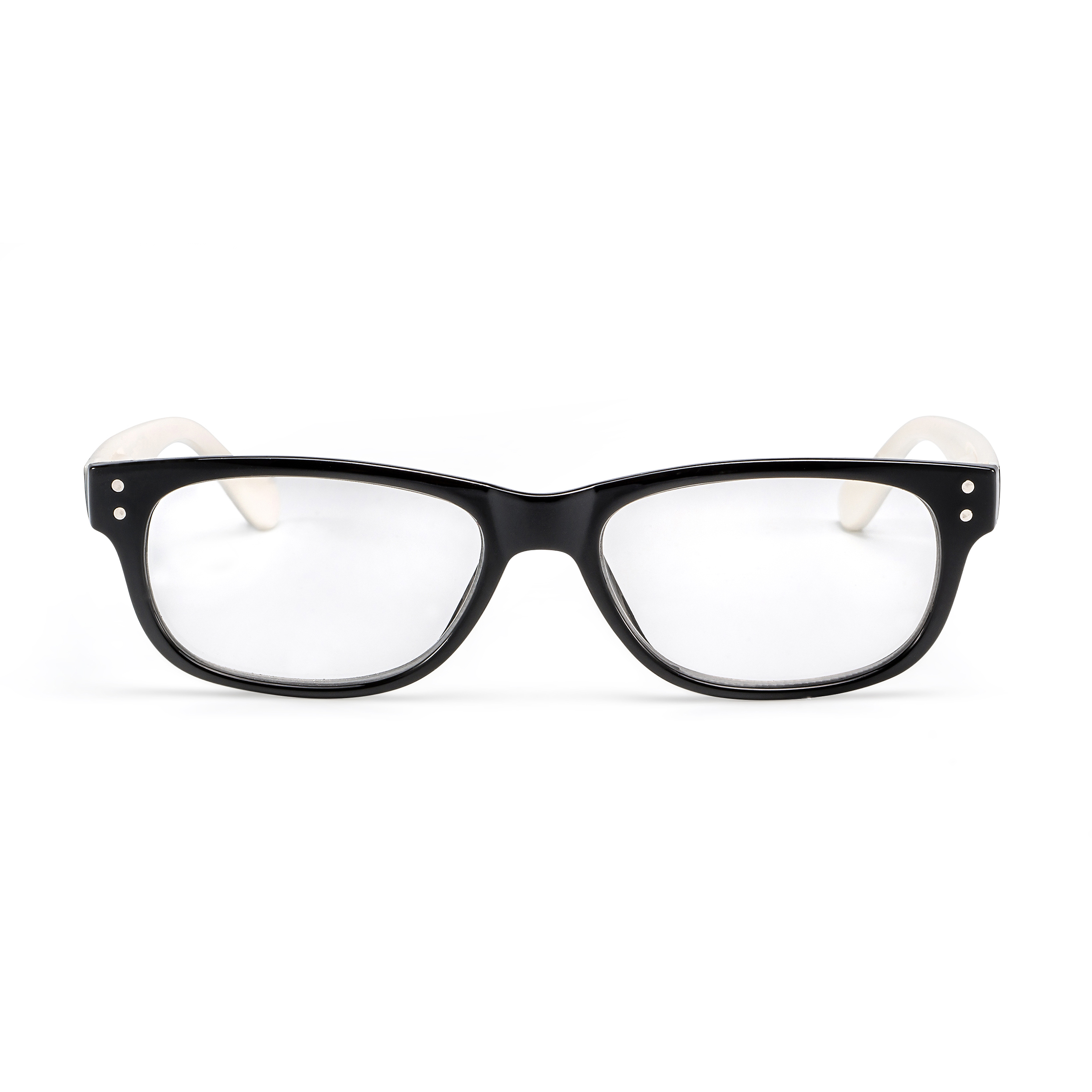 Front view reading glasses San Francisco white