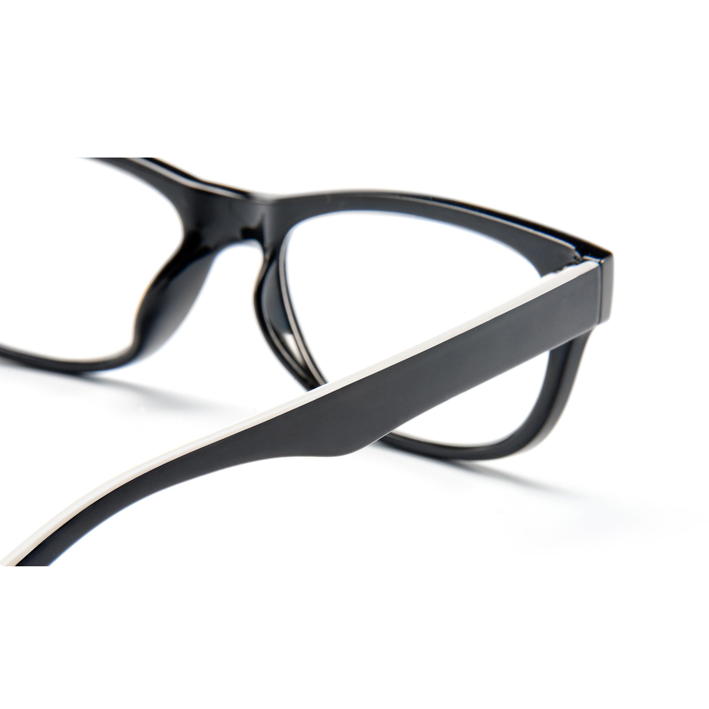 Detailed view frame, reading glasses San Francisco white