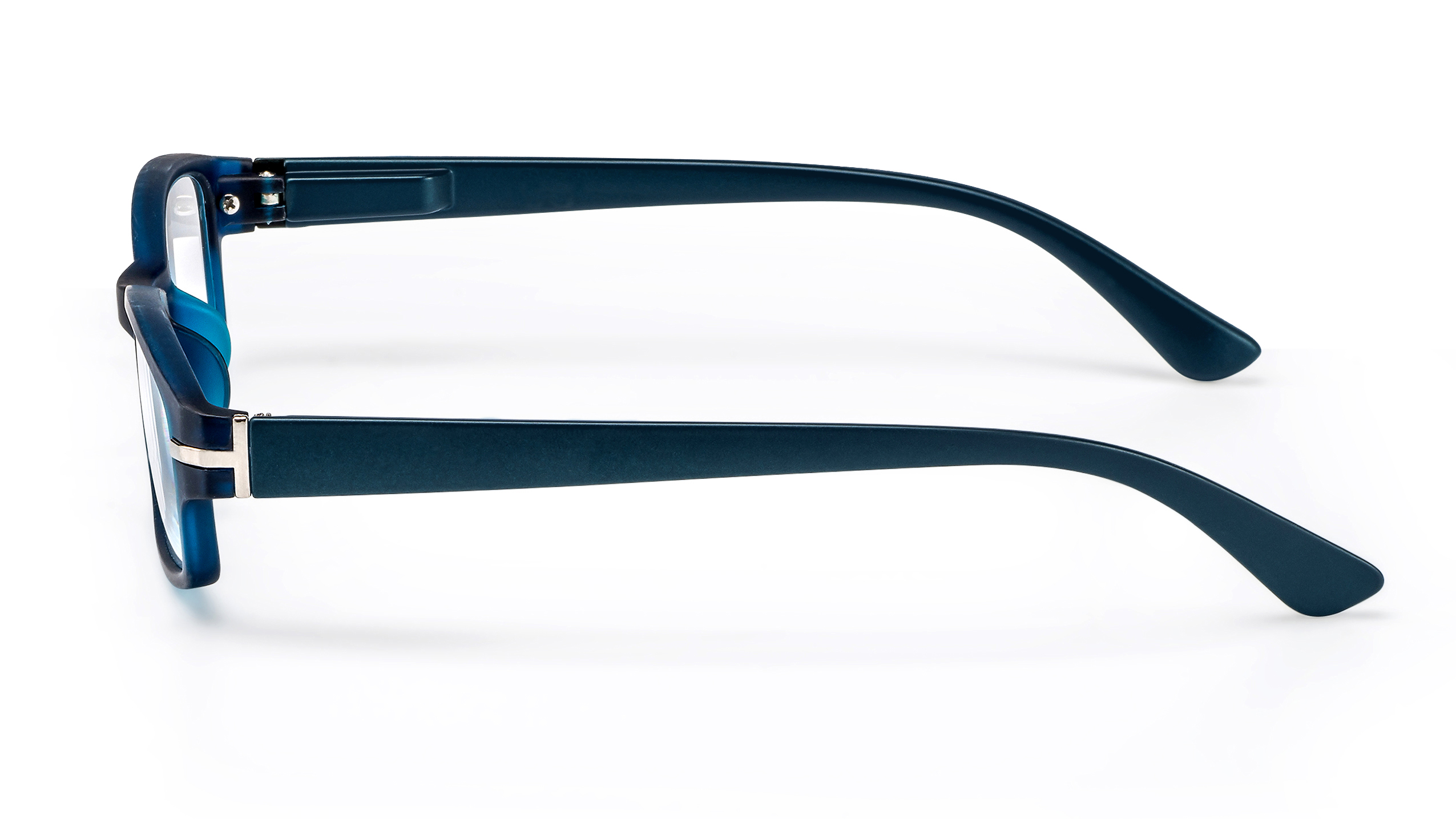 Side view reading glasses Sydney blue