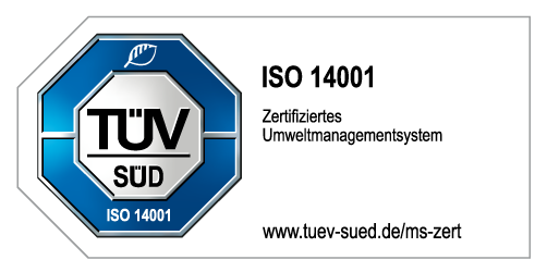 Prüfsiegel ISO 14001