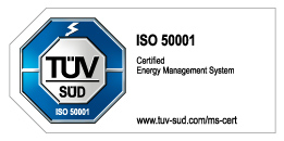 logo certificate ISO 50001 Energy Management System