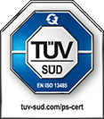 Seal, TÜV SÜD Iso 13485