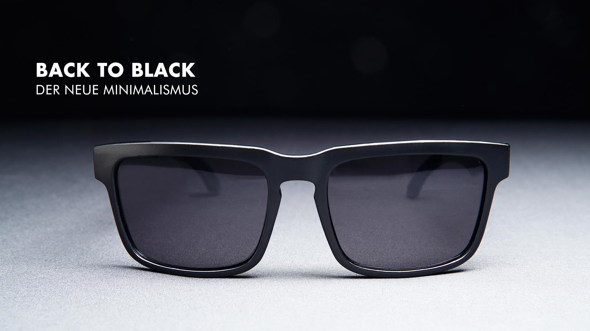 flat top wayfarer sonnenbrille