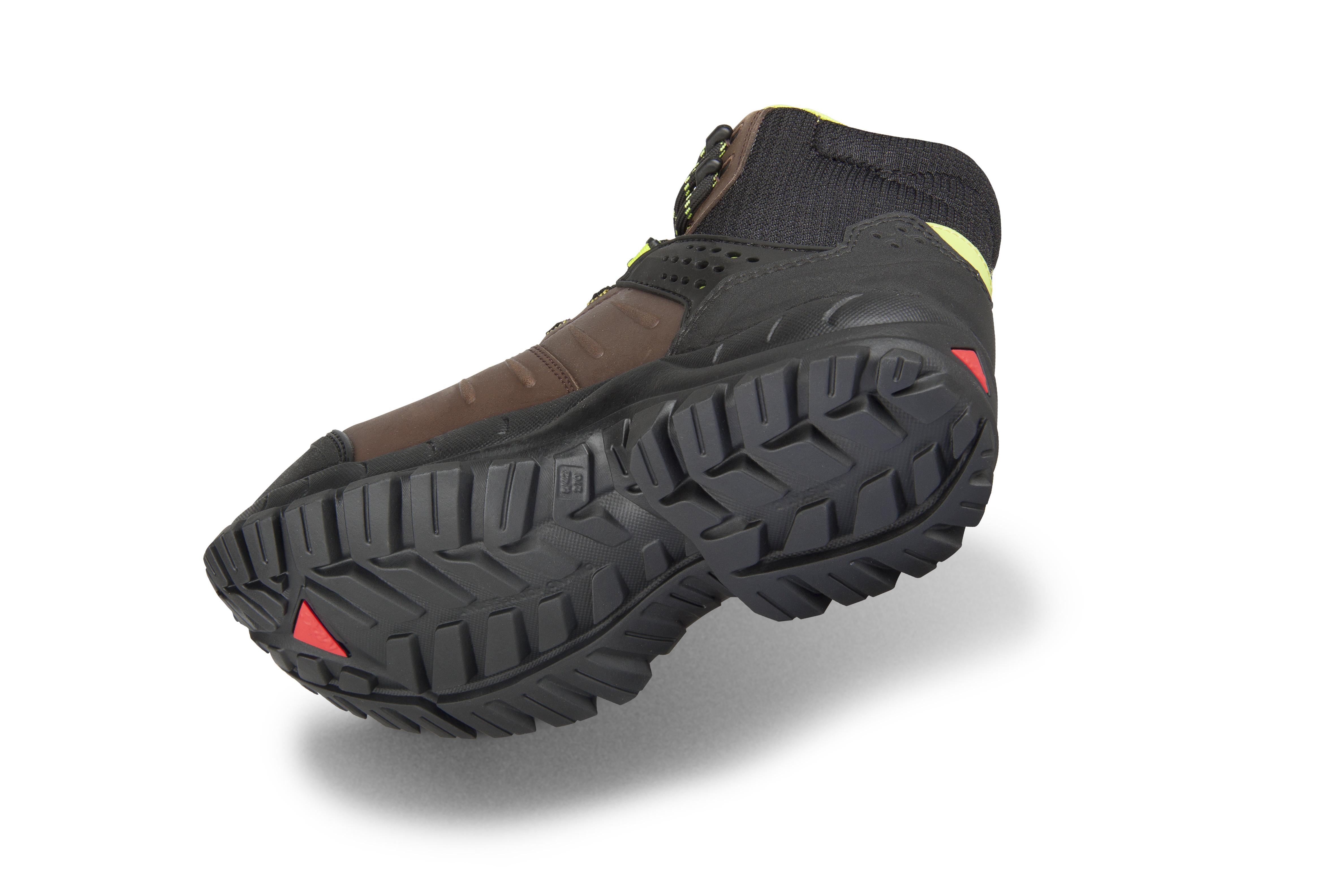 """""""Chaussure de sécurité S3 haute MACCROSSROAD BROWN 2.0 - semelle caoutchouc Macsole"""""""