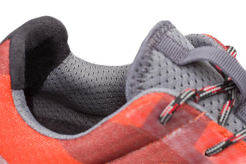 Basket de sécurité RUN-R 520 zoom sur la languette