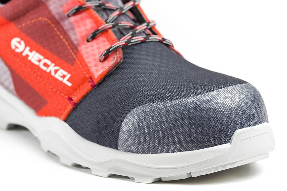 Basket de sécurité RUN-R 520 zoom sur l'avant de la chaussure