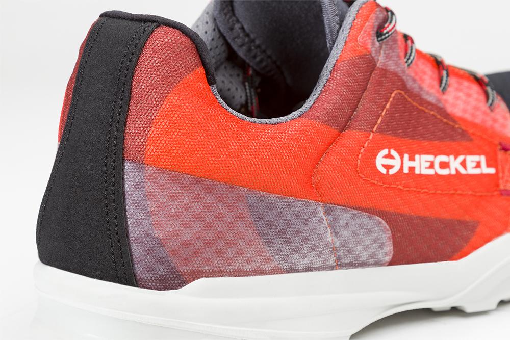 Basket de sécurité RUN-R 520 zoom sur l'arrière de la chaussure