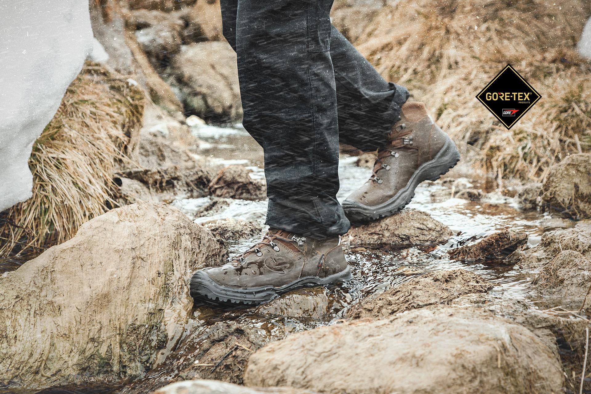 Chaussures de sécurité MX 400 GT dotées de la technologie Gore-Tex