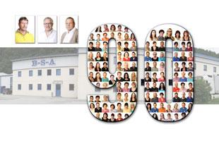 B-S-A Gesellschaft für Kunststoffverarbeitung und -handel celebrates 90 years of uvex