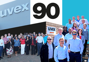 uvex safety South Africa - 90 years celebration