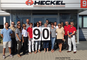 uvex Heckel - 90 years celebration