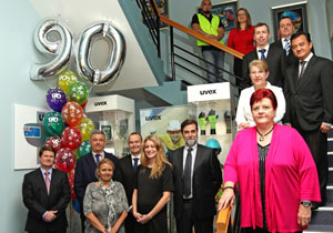 uvex safety Australia -  celebration 90 years of uvex