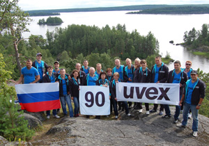 uvex safety Russia - 90 years celebration