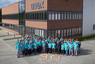 uvex safety gloves - 90 years celebration