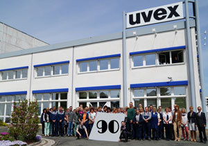 uvex safety textiles celebrates 90 years of uvex