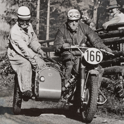 motorcycle sport in the Fifties