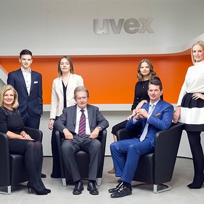 Vierte Generation der uvex group