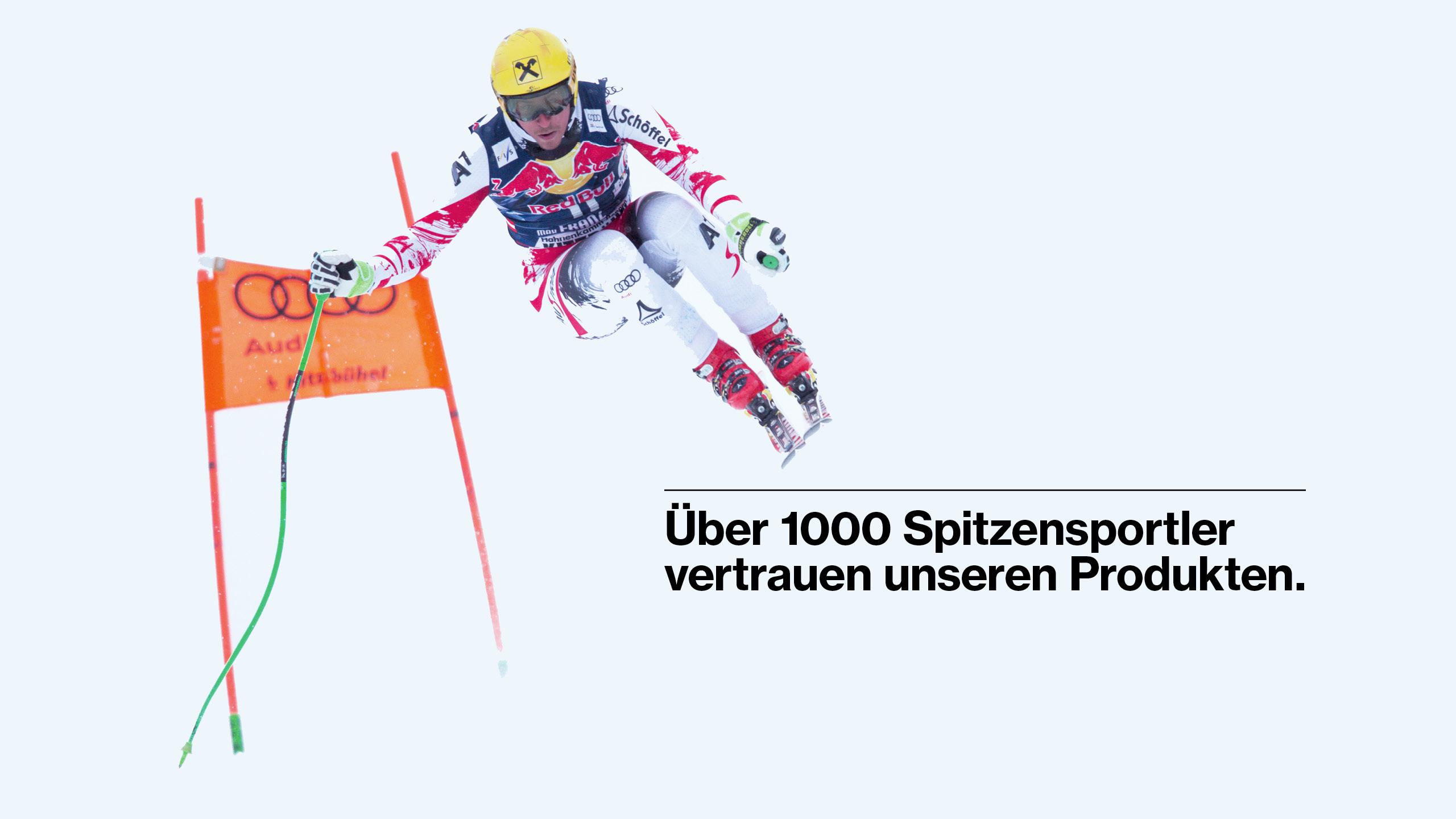 Top Athleten vertrauen uvex Produkte.
