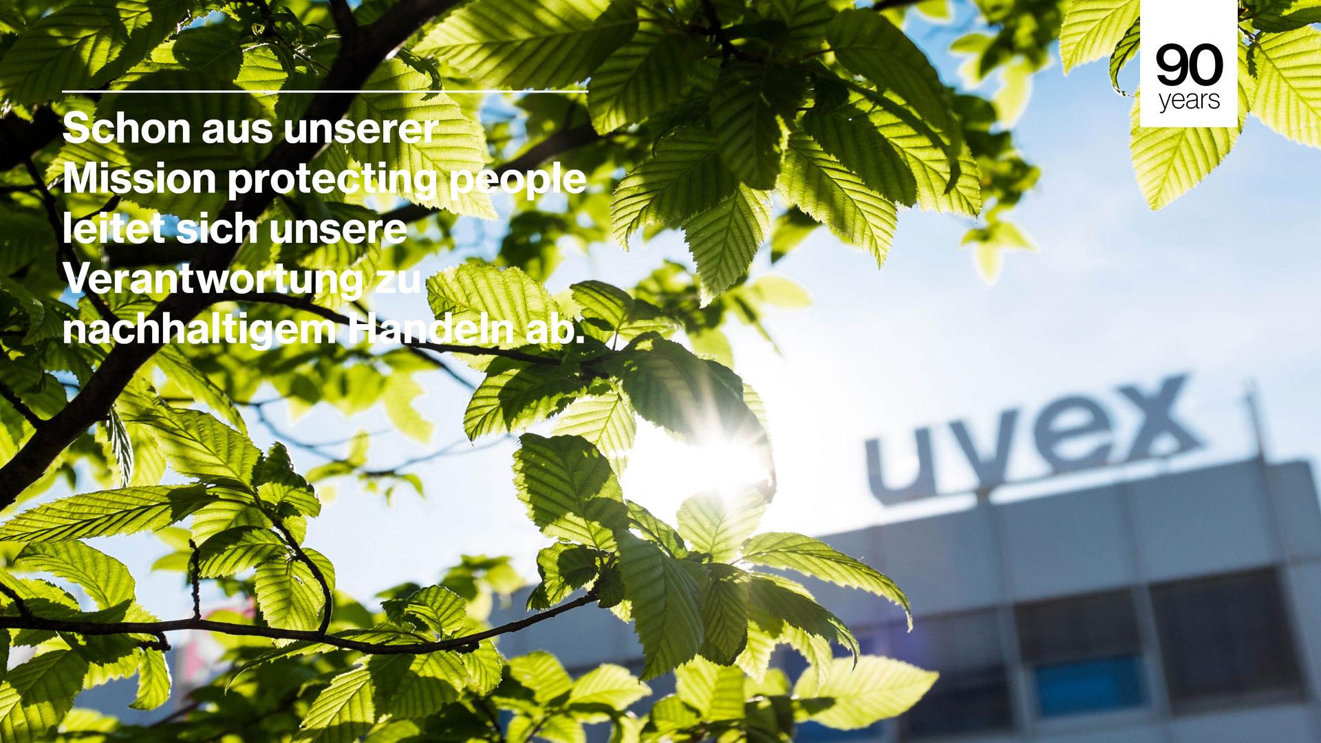 Nachhaltigkeit der uvex group