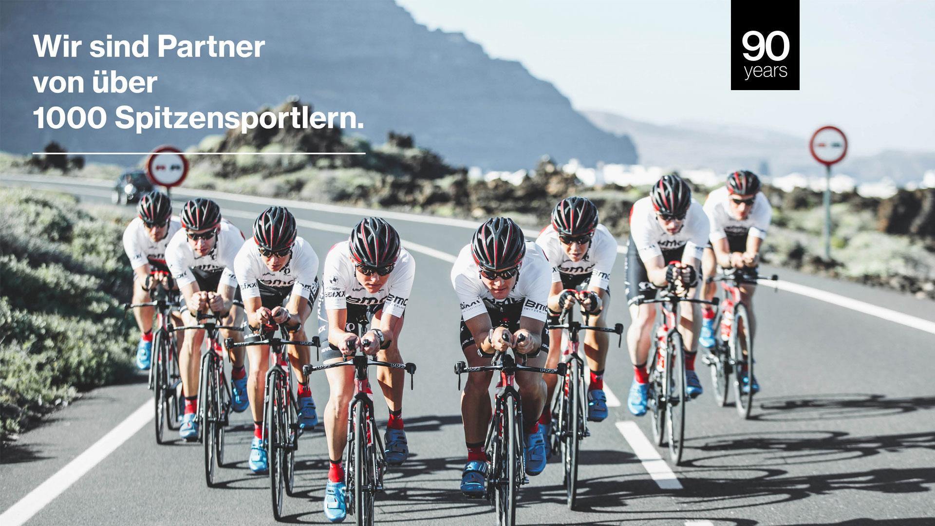 uvex Radsport Athleten
