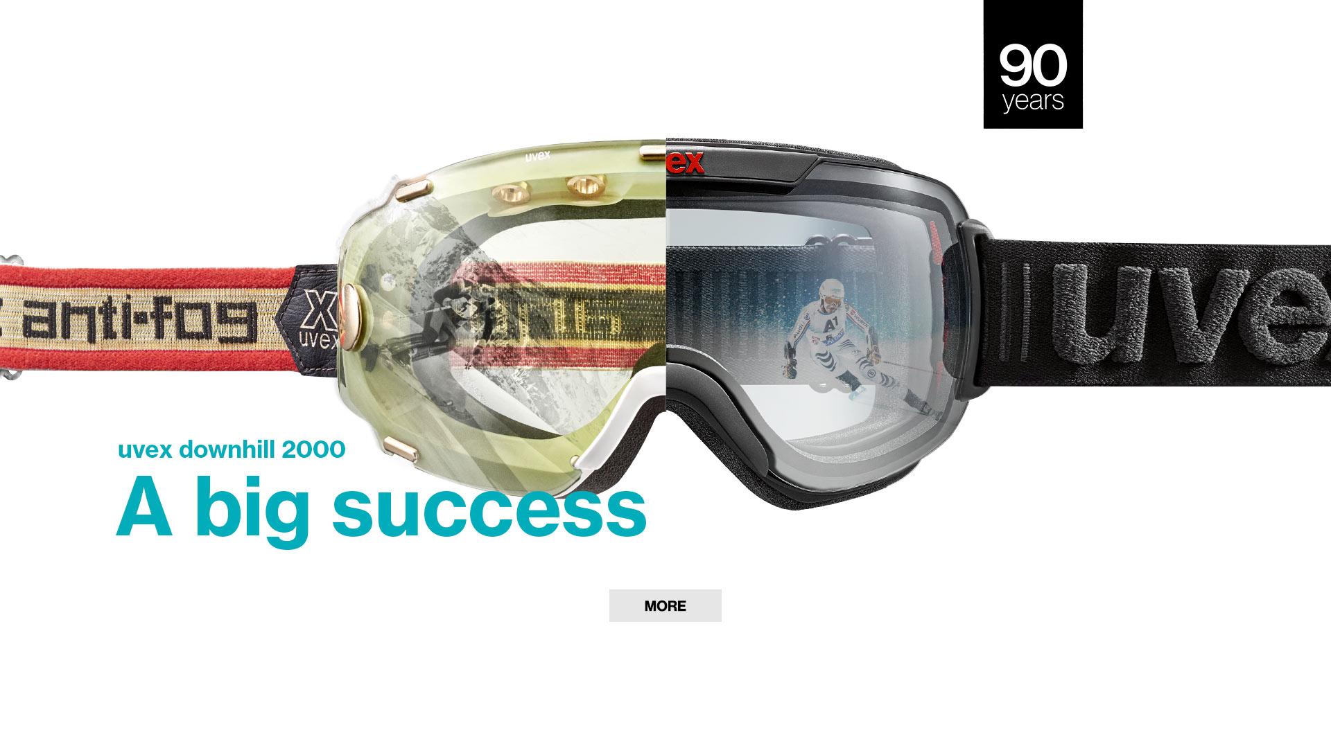 ski goggles: uvex downhill 2000