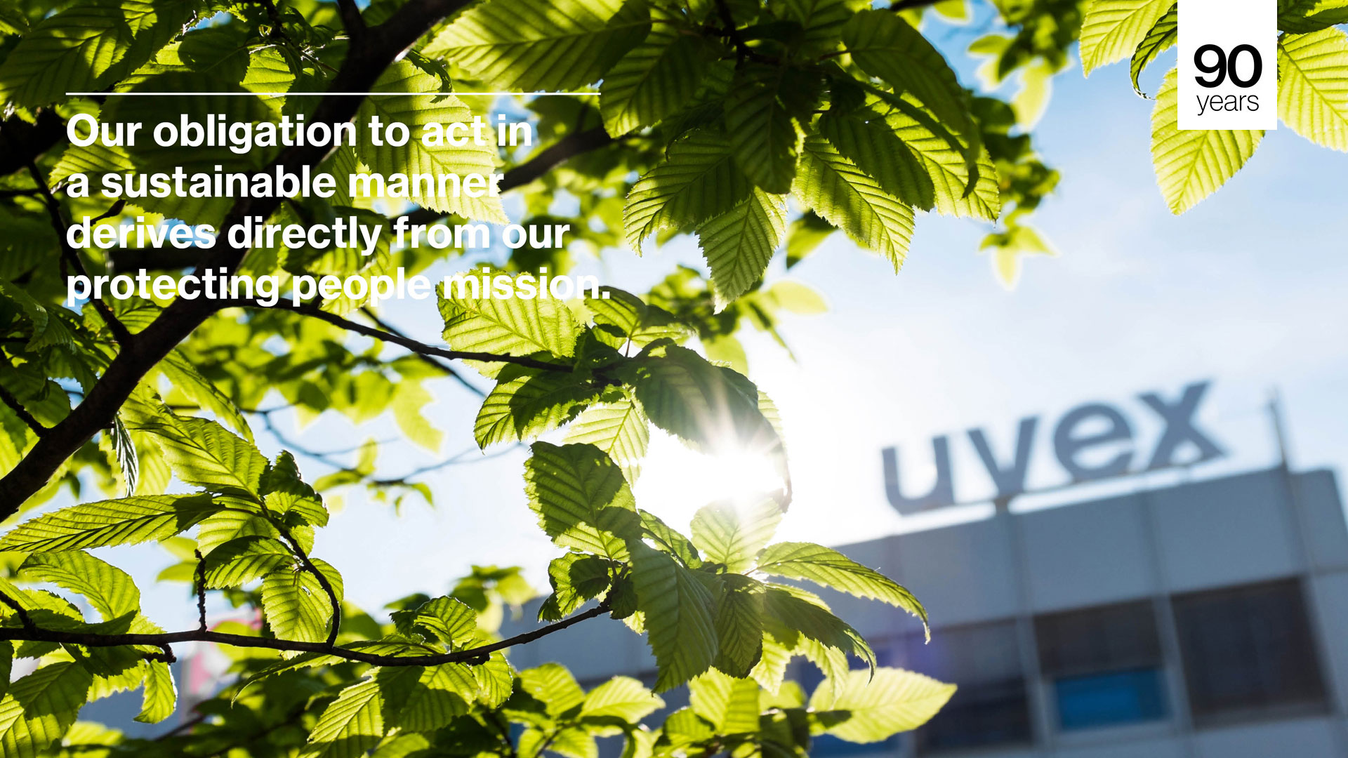 Sustainability of the uvex group