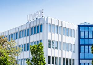Hauptgebäude der uvex group in Fürth