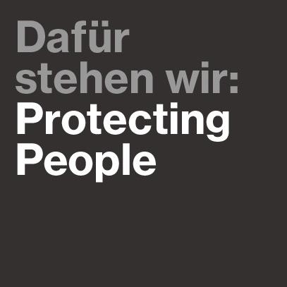 uvex steht für: protecting people