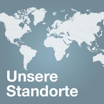 Weltweite Standorte der uvex group